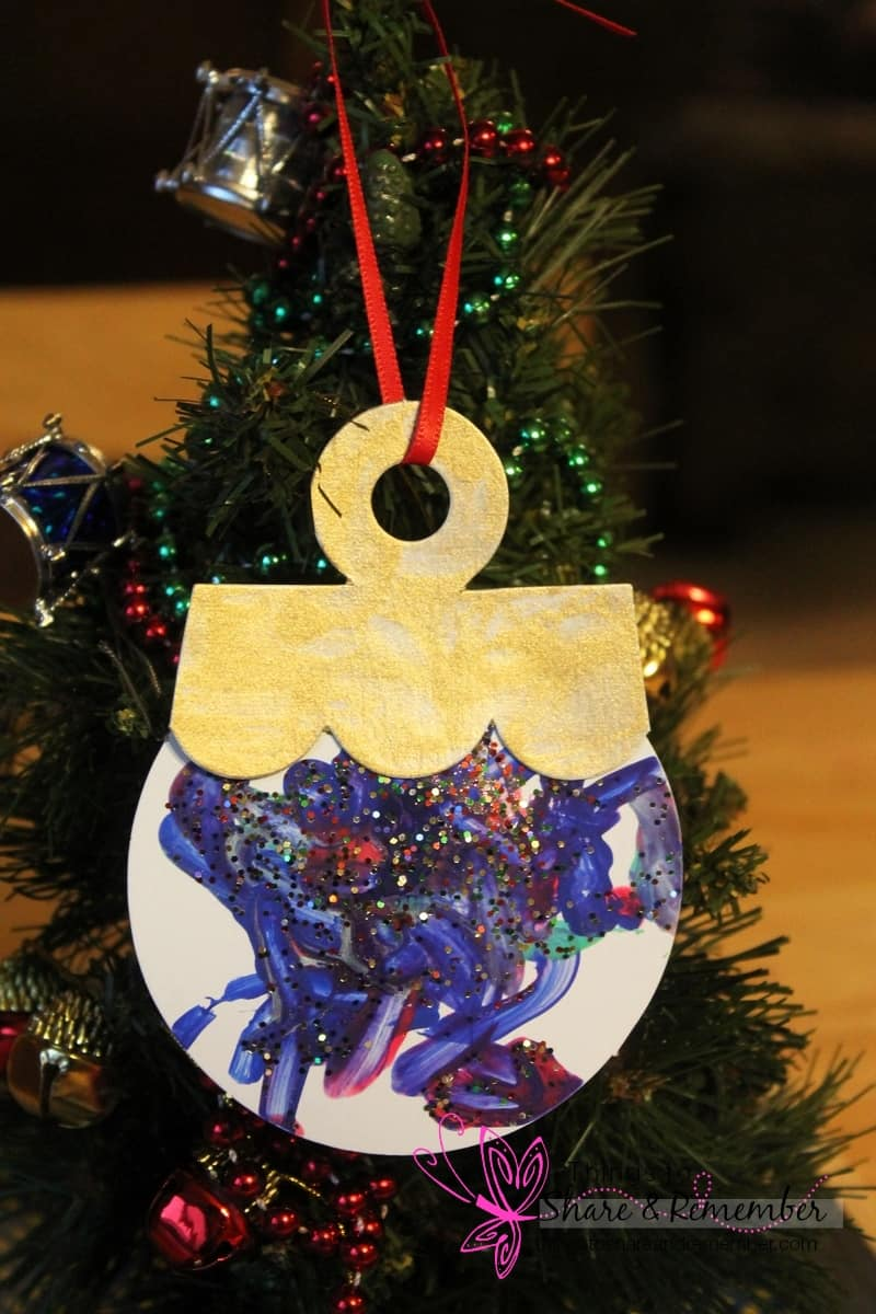 painted preschool ornament