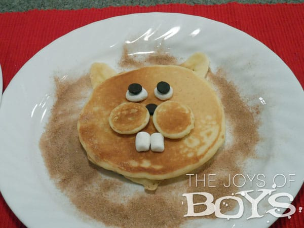 The Joys of Boys: Groundhog Pancakes