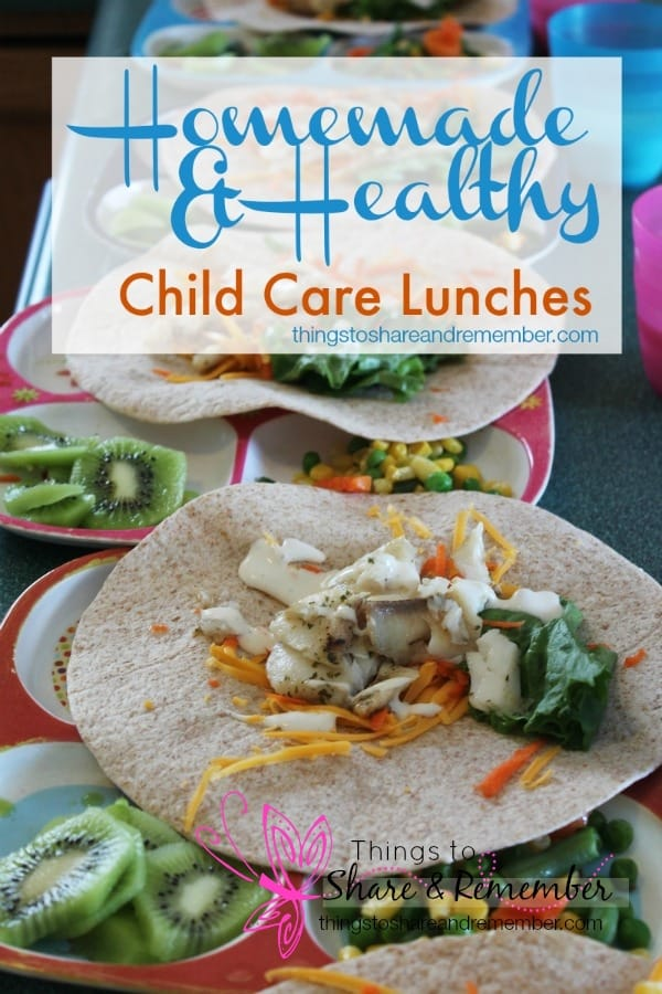 Homemade & Healthy Child Care Lunches