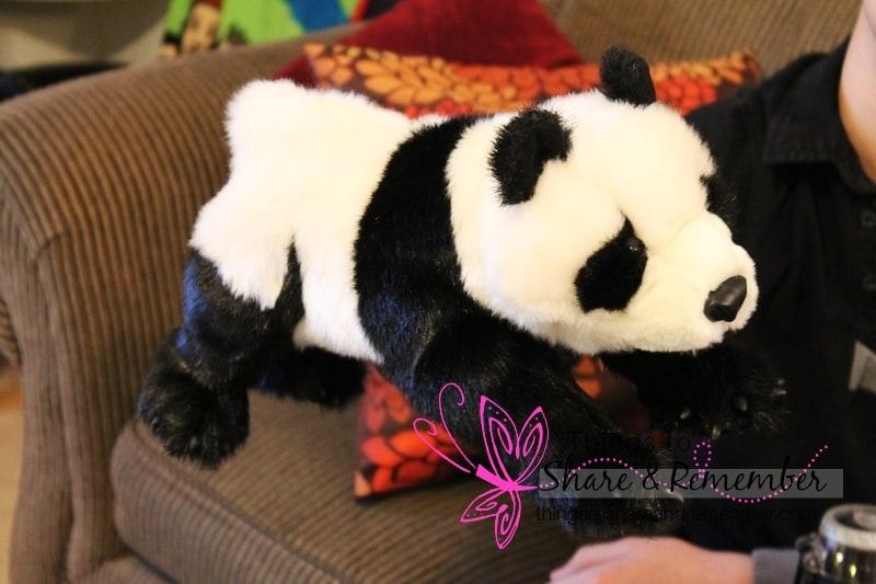 panda bear puppet