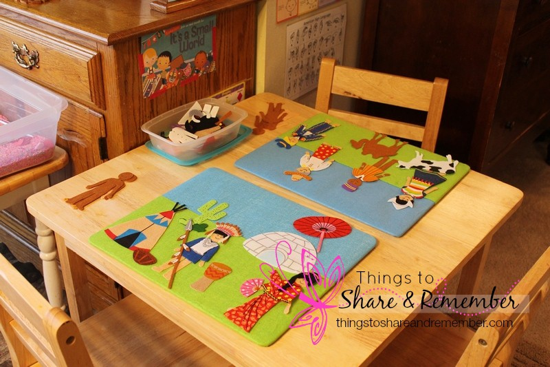 Around our Room ~ Small World Preschool Theme