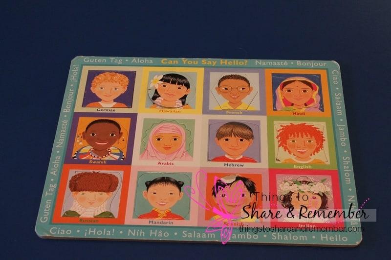 multicultural puzzle
