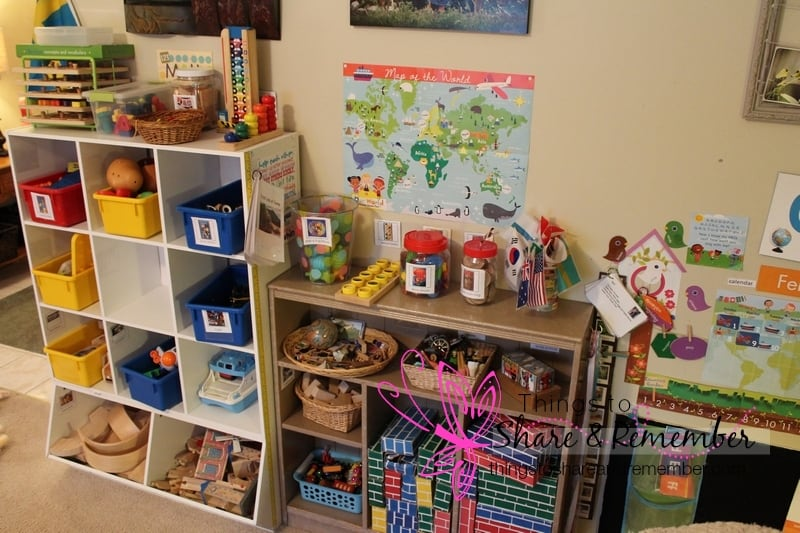 Around Our Room - Small World Preschool Theme