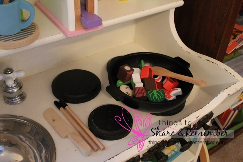 dramatic play - stir fry set
