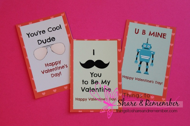 Printable boys valentines