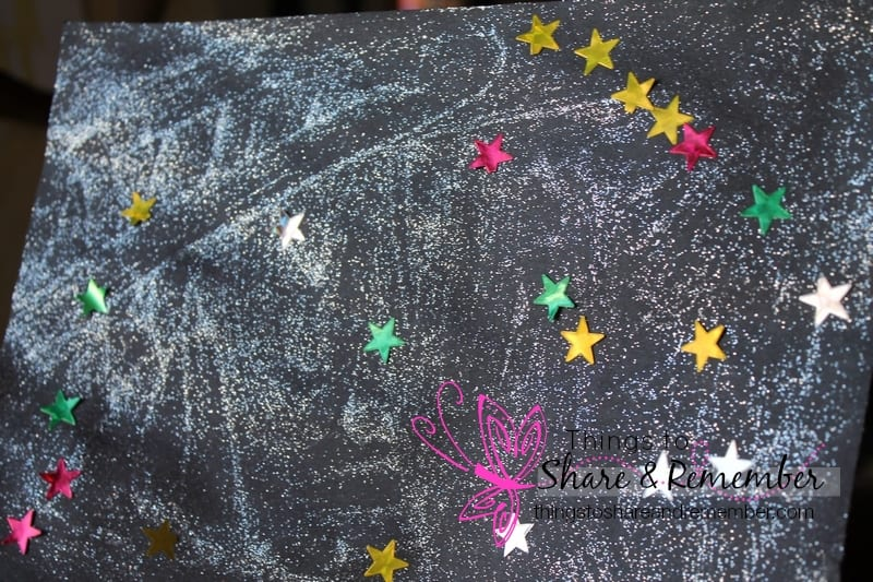Learning about the stars in preschool #MGTblogger
