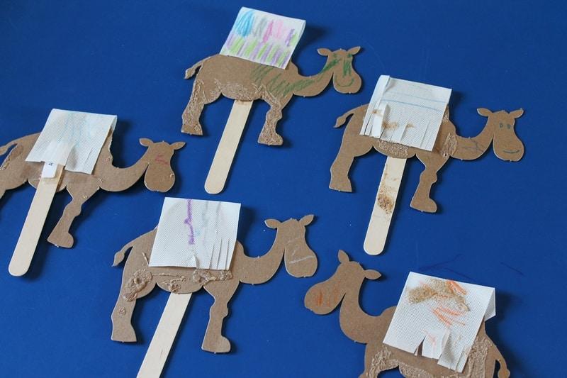 Camel Craft For Preschoolers