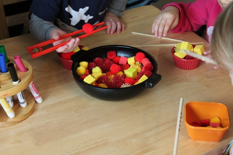Chinese New Year Sensory & Dramatic Play