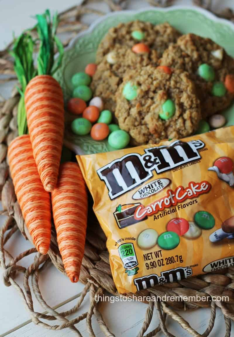 M&M's® Monster Cookies #MMsCarrotCake #CollectiveBias #AD