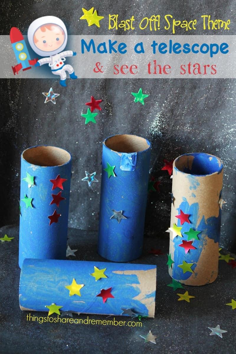 telescope craft for preschoolers