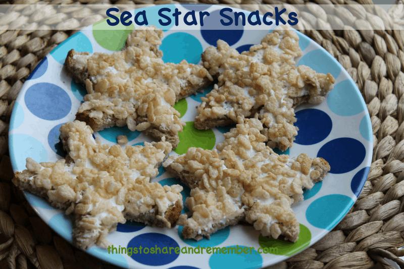 Ocean Commotion Sea Star Snacks #MGTblogger