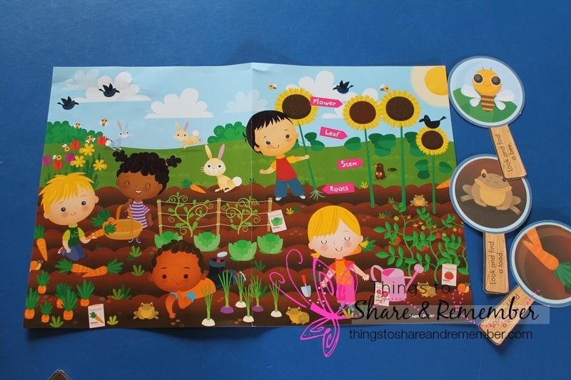 growing gardens theme poster set