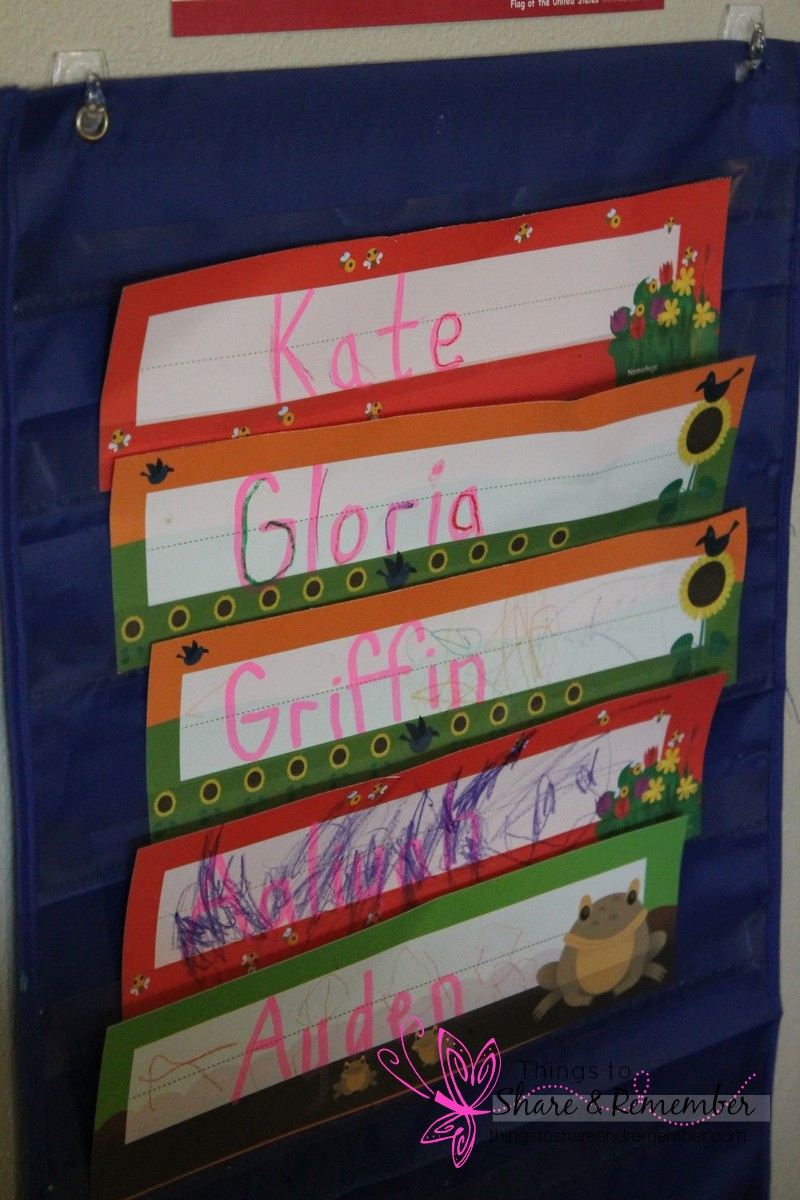 name writing on May name tags