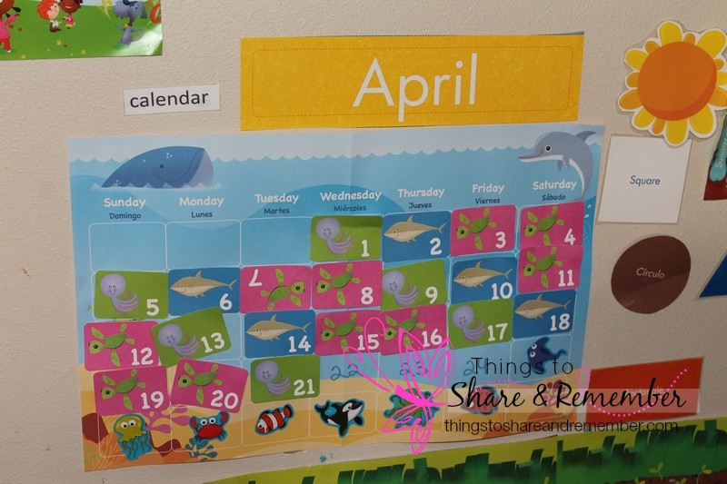 April Mother Goose Time theme Ocean Commotion