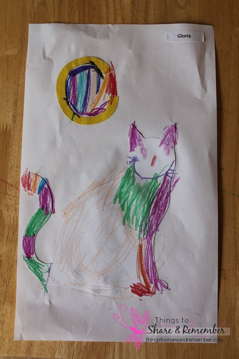 preschool letter C art