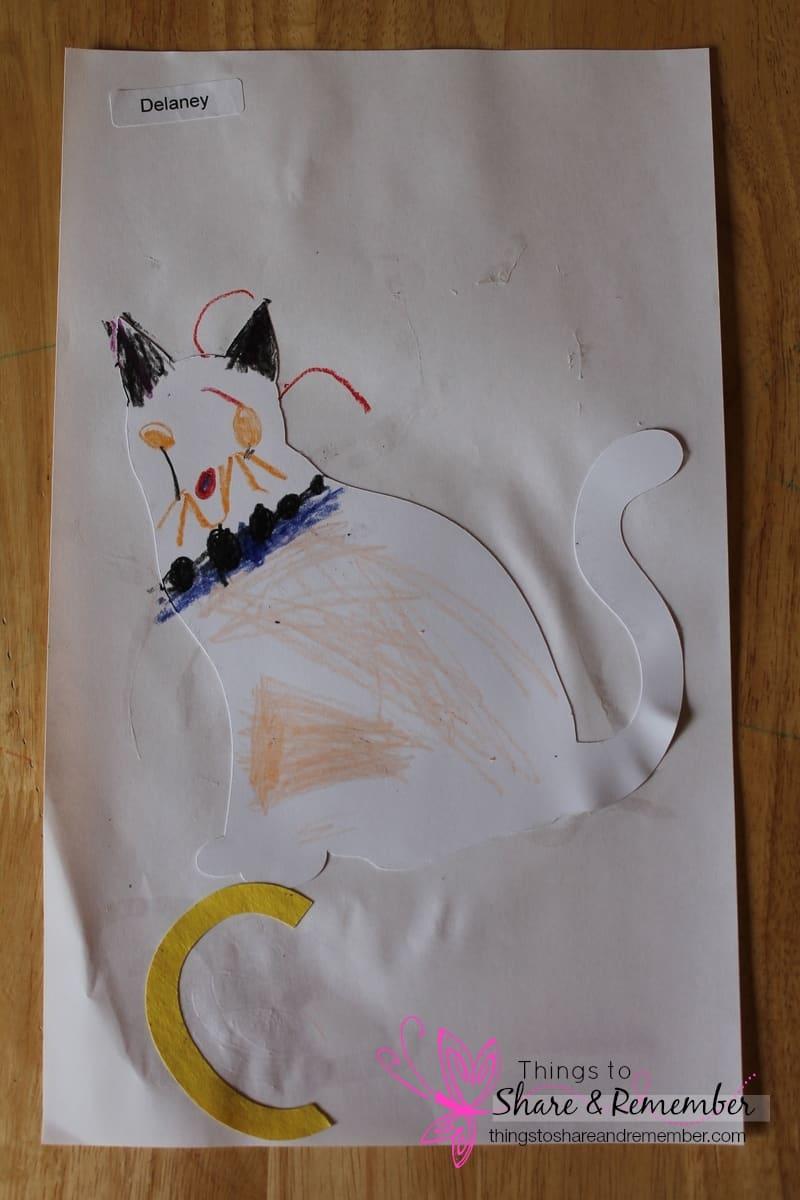 Cat art project