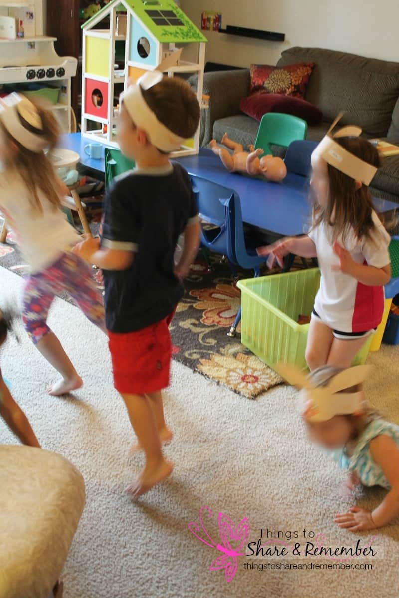 preschool music & movement bunnies