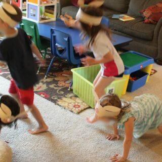 Alphabet House: Hop Little Bunnies