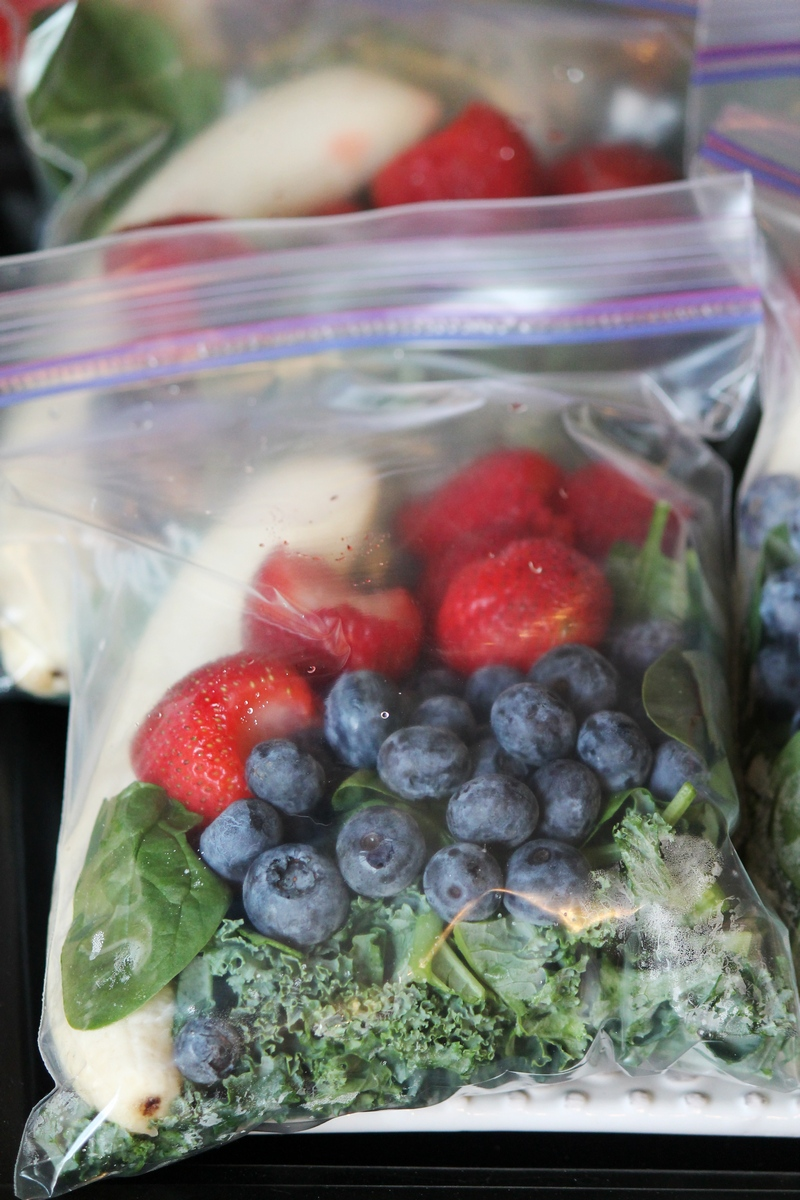 Make Ahead Smoothie Freezer Bags