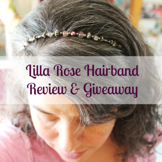 Lilla Rose Hairband Review & Giveaway