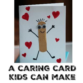 A Caring Card Kids Can Make