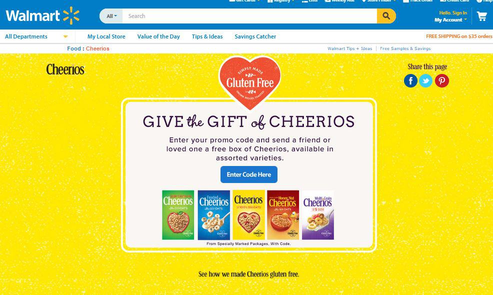 Cheerios ™ #GiveABox #CollectiveBias #Ad