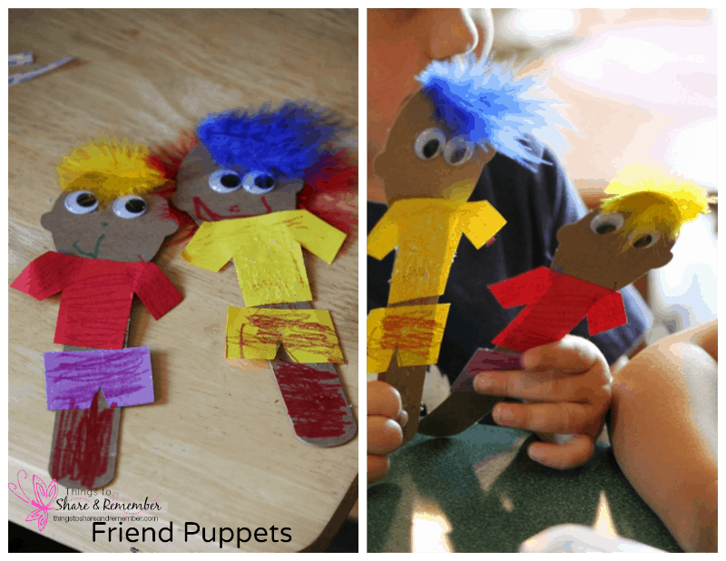 Friend Puppets