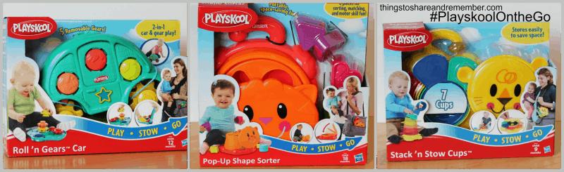Play Stow Go Playskool Toys #PlayskoolOntheGo #ad