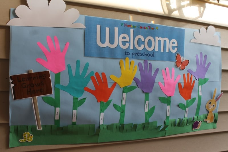 Preschool Open House Welcome Banner