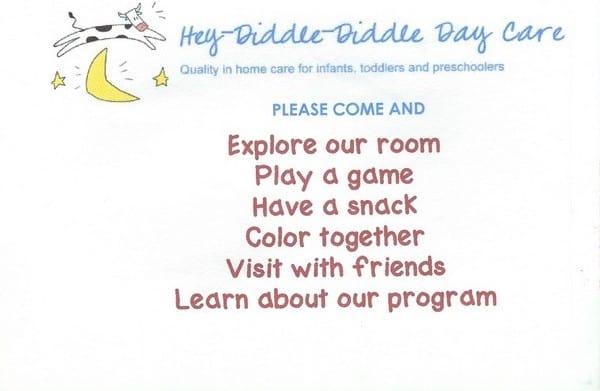 Hosting A Preschool Open House