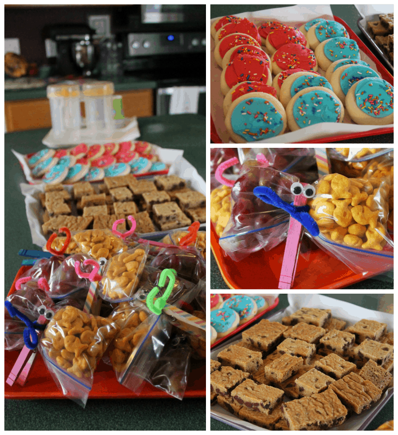 preschool open house snacks #MGTblogger