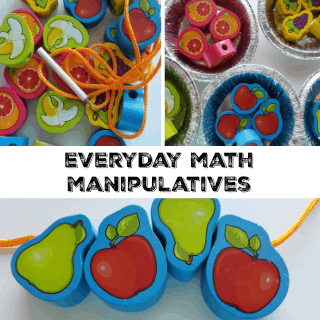 everyday math manipulatives in preschool