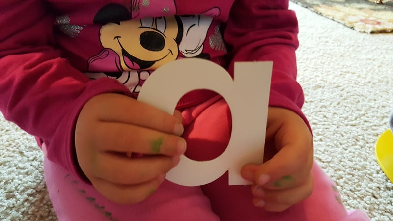 hands on letters #MGTblogger