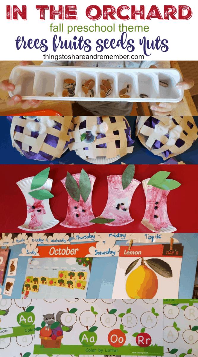 preschool fall theme in the orchard fall preschool theme 745