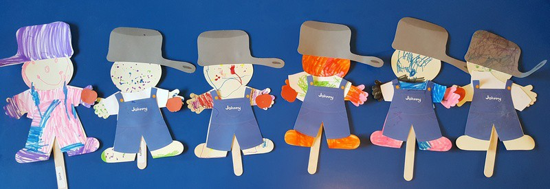 johnny appleseed puppets