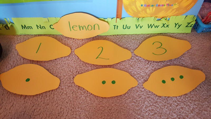 lemon shape number game