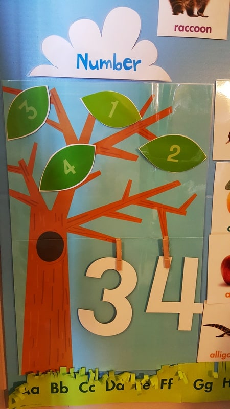 Mother Goose Time Hands On Numbers