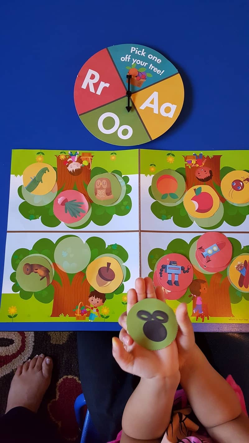 orchard tree letter game