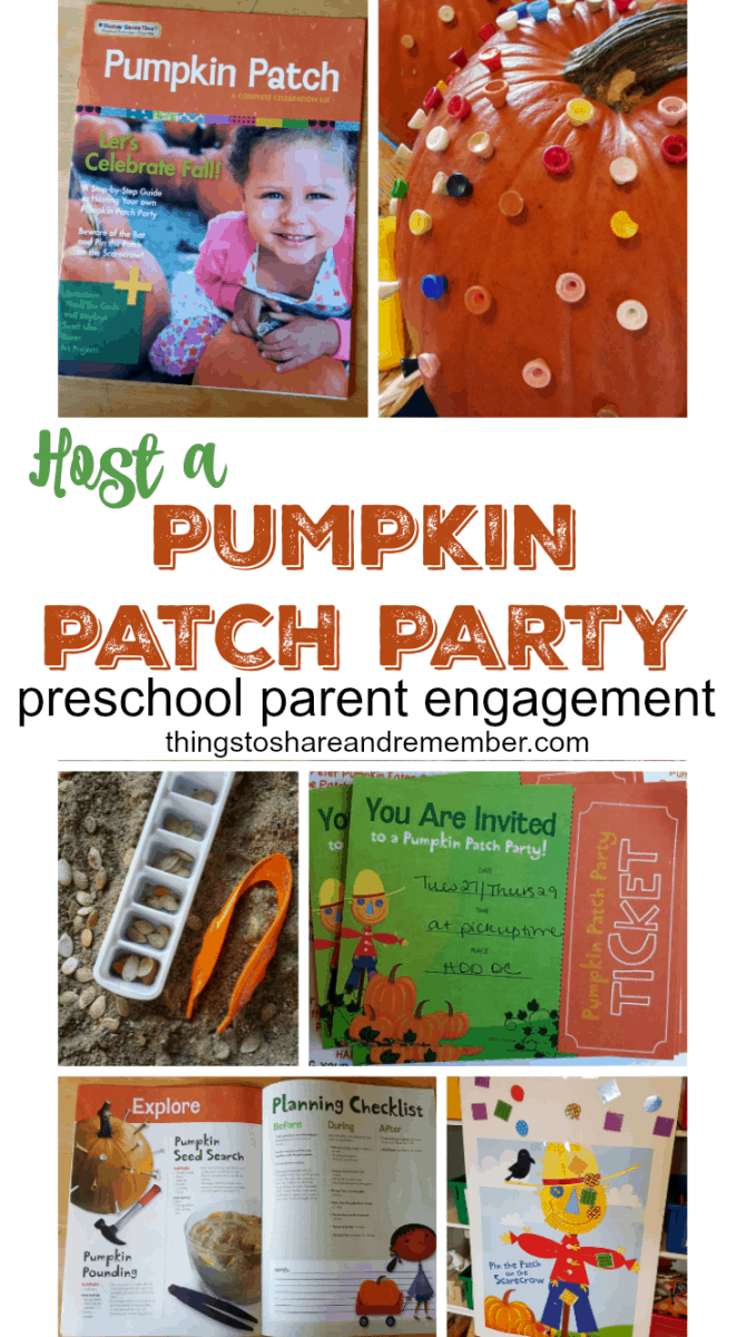 Host a Pumpkin Patch Party #MGTblogger