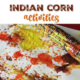 Indian Corn Activities for preschool