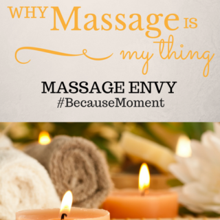 Why Massage is My Thing #BecauseMoment