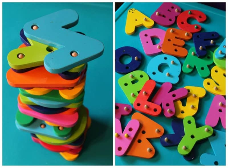 abc stacking puzzle