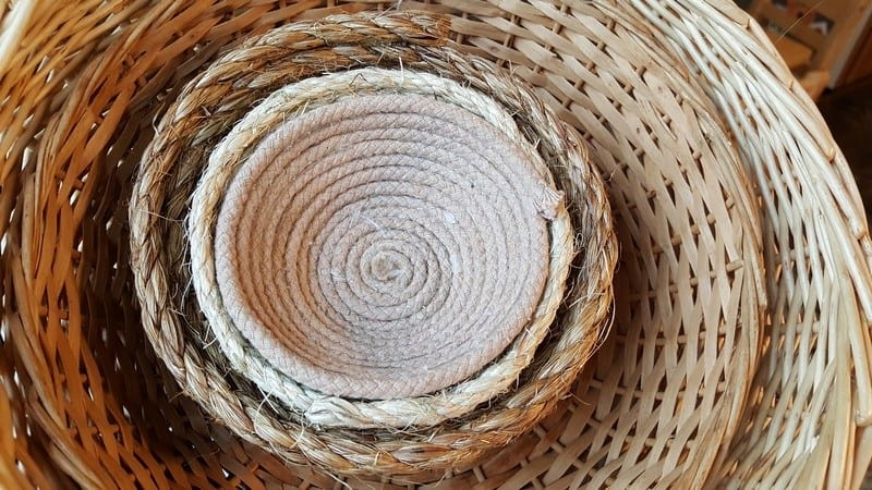 baskets for child care and preschool storag