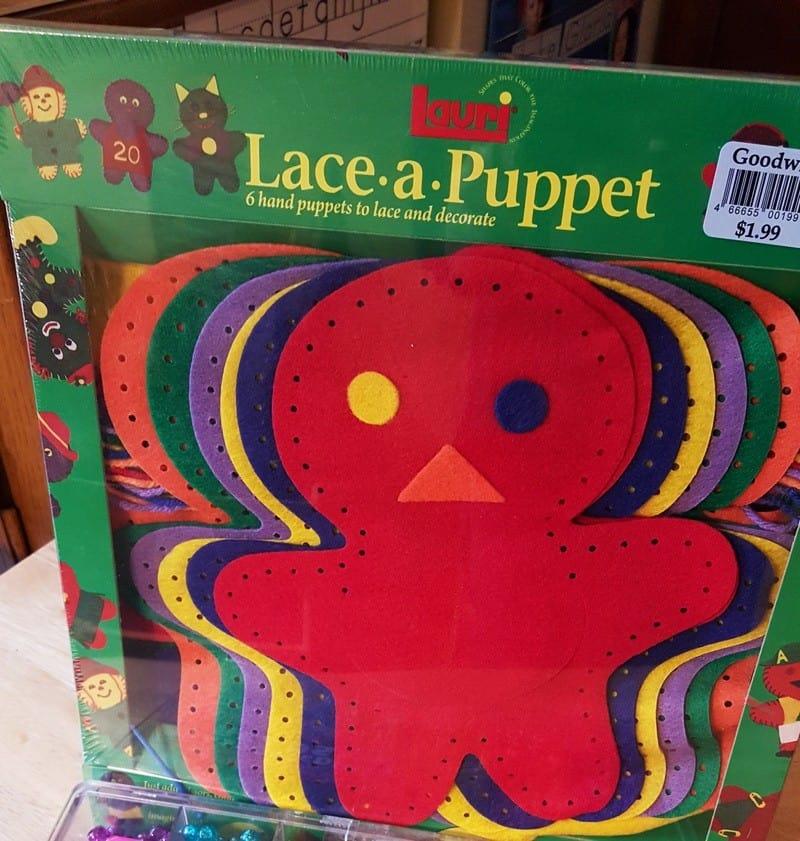 lace a puppet