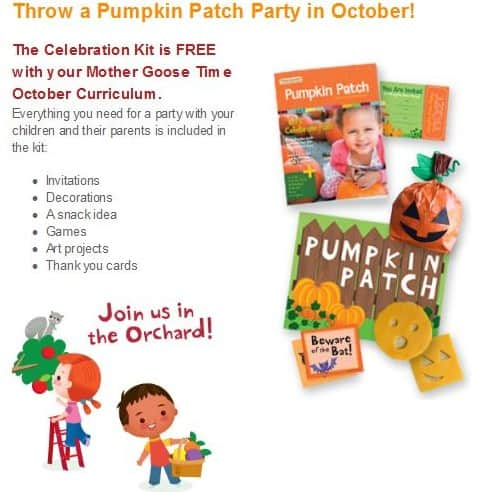 Fall Preschool Pumpkin Patch Party