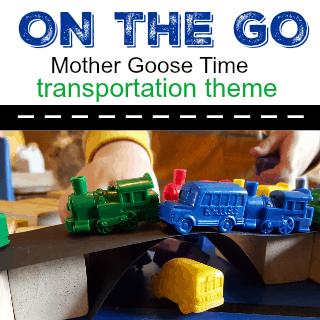 On the Go preschool transportation theme