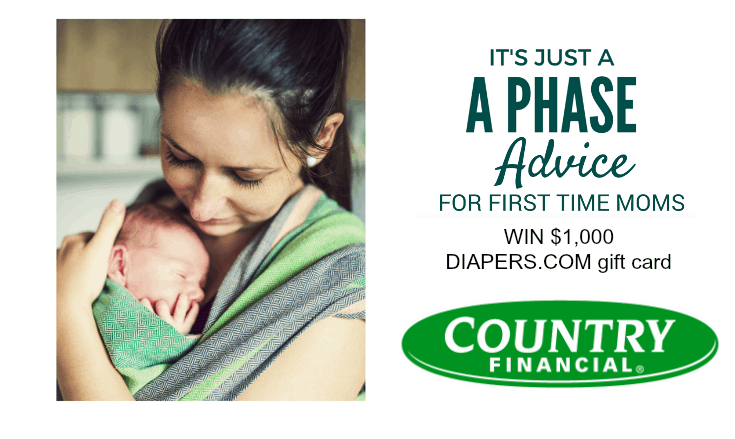 It's Just a Phase Diapers.com Sweepstakes with COUNTRY Financial®