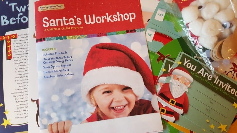 Santa's Workshop Kit Sights and Sounds of Winter December Preschool Theme