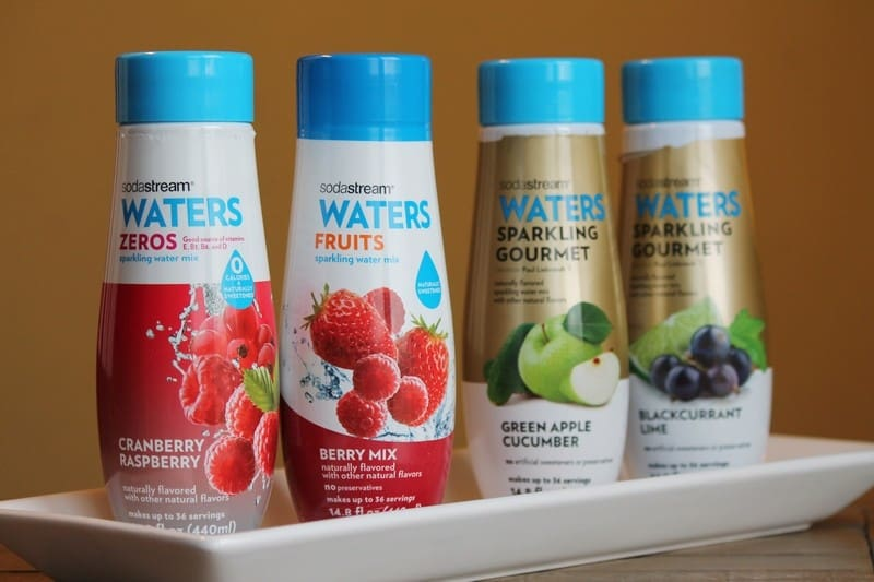 SodaStream Sparkling Drink Mixes #WaterMadeExciting