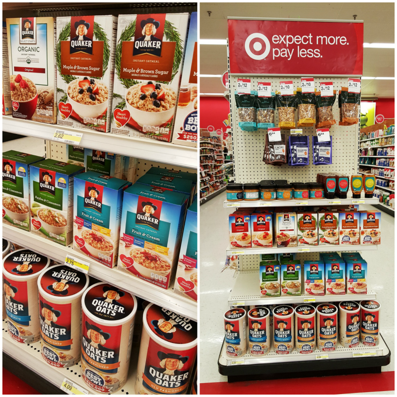 Quaker Oatmeal at Target #BringYourBestBowl #Target